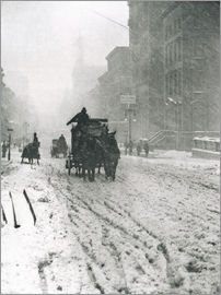 Alfred Stieglitz - Winter - Fifth Avenue