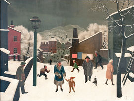 Franz Sedlacek - Winter in the City I