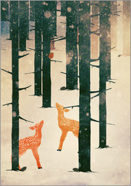 Sybille Sterk - Winter Deer