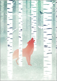 Sybille Sterk - winter fox