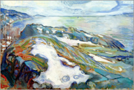 Edvard Munch - Winter landscape