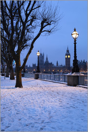 Stuart Black - South Bank in winter