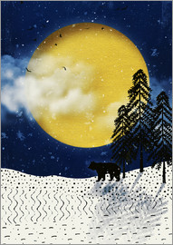 Sybille Sterk - winter moon