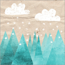 Mia Nissen - Clouds with Mountain