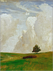 Otto Modersohn - Mountains of clouds