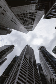 Matteo Colombo - Skyscrapers in the business centre, Singapore
