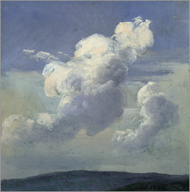Johan Christian Clausen Dahl - Cloud Study