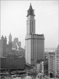 Glasshouse - Woolworth Building, 1913