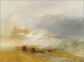 Joseph Mallord William Turner - Wreckers - Coast of Northumberland