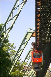 Walter Bibikow - Suspension Railway in Wuppertal, Germany