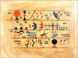 Wassily Kandinsky - character strings