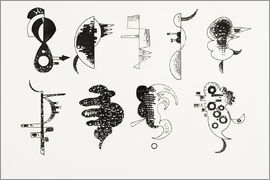 Wassily Kandinsky - Drawing on Chacun pour soi