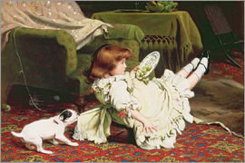 Charles Burton Barber - Time to Play