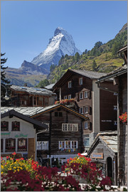 Angelo Cavalli - Zermatt with Matterhorn