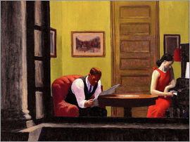 Edward Hopper - Room in New York