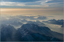 Denis Feiner - Zugspitze in the haze
