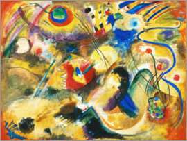 Wassily Kandinsky - On the subject of Flood