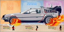 HDMI2K - Back to the Future - DeLorean trilogy Alternative Fanart