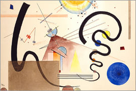Wassily Kandinsky - Two movements