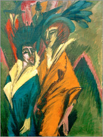 Ernst Ludwig Kirchner - Two Women in the Street