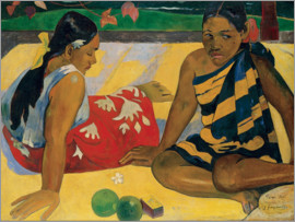 Paul Gauguin - Two Tahiti Women