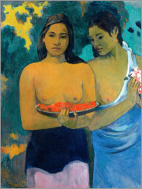 Paul Gauguin - Two women of Tahiti