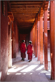 Matteo Colombo - Two young monks in a monastery, Nepal