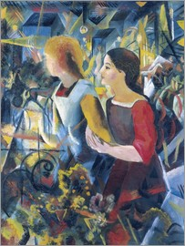 August Macke - Two girls