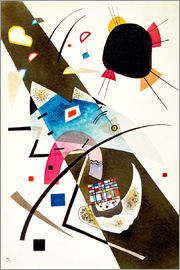 Wassily Kandinsky - Two Black Spots