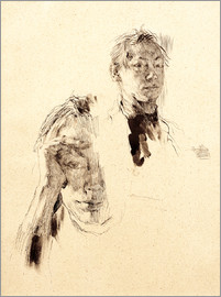 Käthe Kollwitz - Two self-portraits