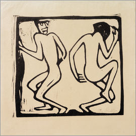 Christian Rohlfs - Two Dancing