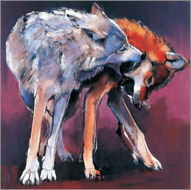 Mark Adlington - Two Wolves