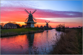 Reemt Peters-Hein - Windmills in Greetsiel