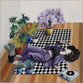 Jennifer McLennan - Checkers and plants