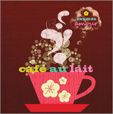 Wall sticker Cafe Au Lait