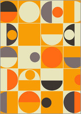 Gallery Print  Panton orange - Mandy Reinmuth