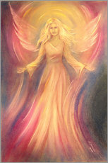 Gallery Print  Spiritual painting of angel Light Love - Marita Zacharias
