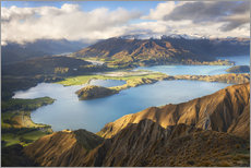 Gallery print  Wanaka Mountains - Michael Breitung