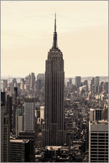 Wall sticker  Empire State Building Vintage - Buellom
