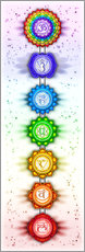 Gallery print  The Seven Chakras - Series V - Artwork II - Dirk Czarnota