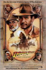 Aluminium print  Indiana Jones and the Last Crusade - Entertainment Collection