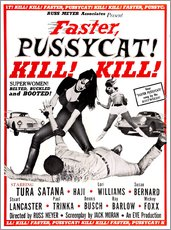 Wall sticker  Faster, Pussycat! Kill! Kill! - Entertainment Collection