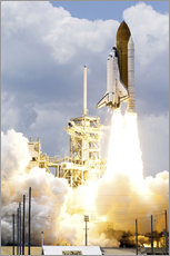 Wall sticker  Space shuttle Atlantis launches - Stocktrek Images
