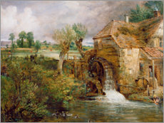 Wall sticker  Mill at Gillingham - John Constable