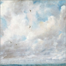 Wall sticker  Cloud Study - John Constable