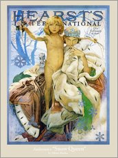 Wall Stickers  Hearst's - The Snow Queen - Alfons Mucha