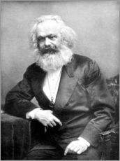 Wall sticker  Portrait of Karl Marx - English Photographer