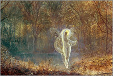Wall sticker  Autumn - John Atkinson Grimshaw