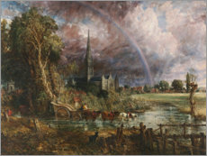 Gallery print  Salisbury Cathedral From the Meadows - John Constable