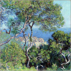 Foam board print  Bordighera - Claude Monet